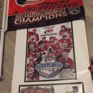 2006 official CAROLINA HURRICANES POSTER USPS